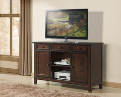 Tuscan Hills 3 Drawer Wine Server/TV Stand