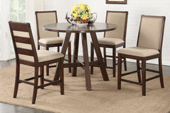 Round Counter Height Dining Set