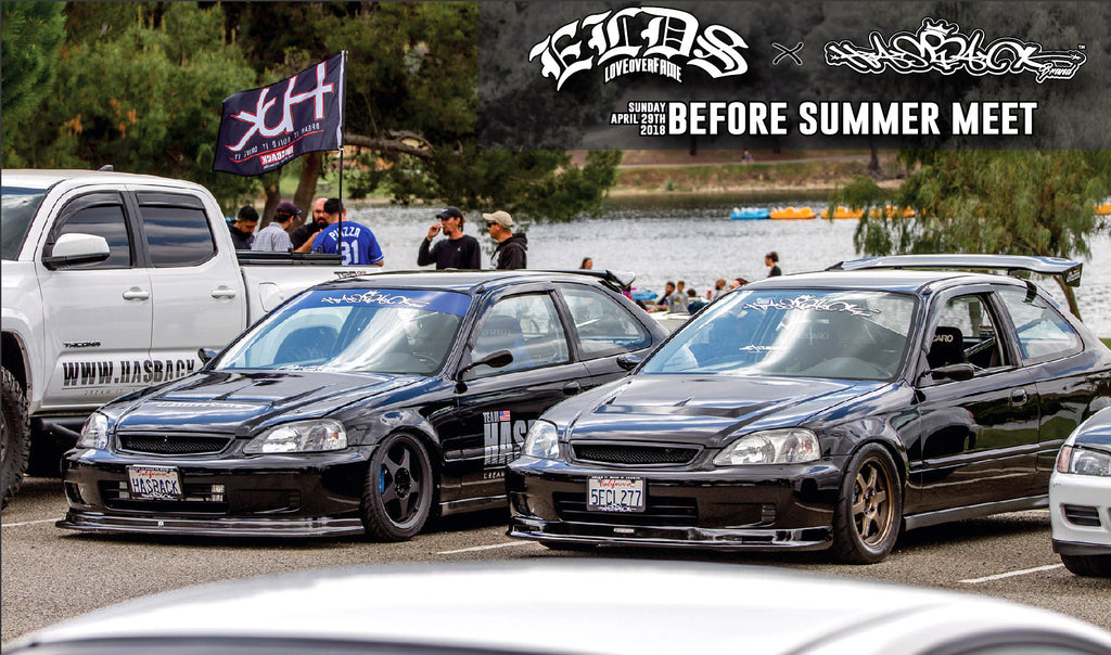 ELDS x HASBACK BEFORE SUMMER MEET
