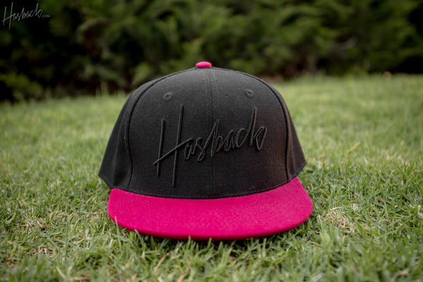 Hasback Script - Black/Burgundy Bill