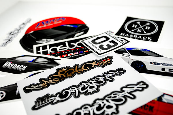 Hasback Decal Set