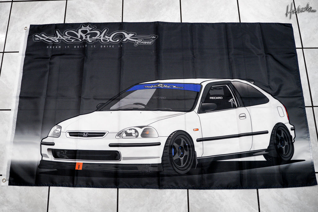 Flag Banner - Honda Civic EK4