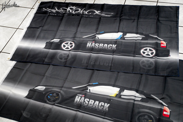 Flag Banner - Hasback Civic EK9