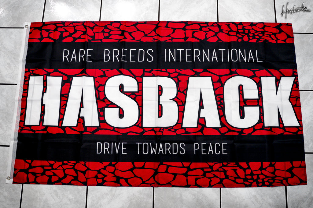 Flag Banner - Hasback Drive Towards Peace