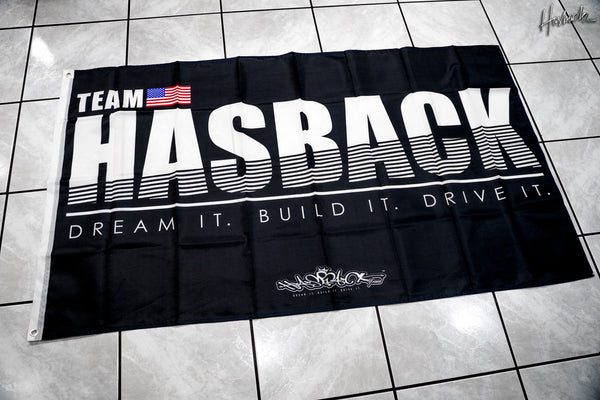 Flag Banner - TEAM USA Banner Flag - Black