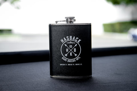8 oz. Leatherette Stainless Steel Flask