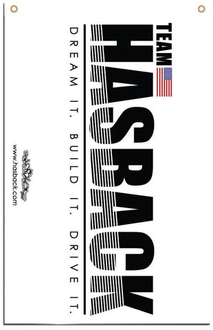 Flag Banner - Hasback TEAM USA