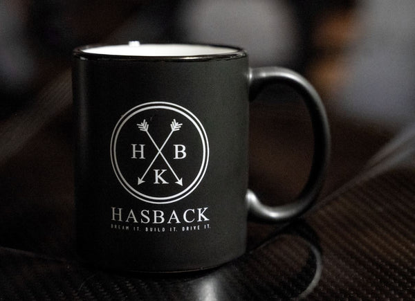 Black Hasback Mug 12 oz.