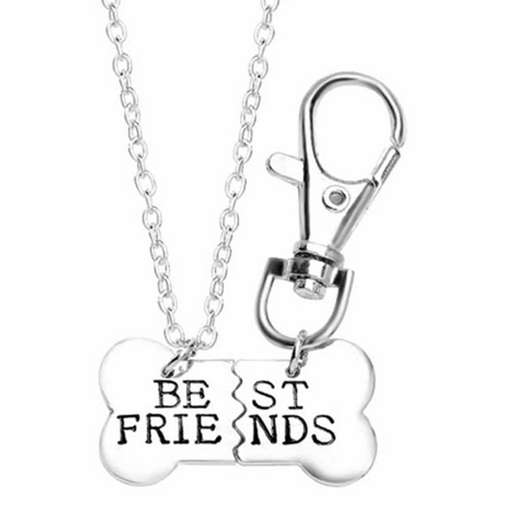 for pendant finer dogs bone dog pure women products necklace sterling paw popular personalized yfn design silver and plated