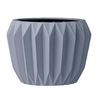 Midnight blue flower pot