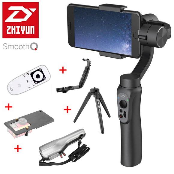 Smooth Q 3-Axis Handheld Smartphone Gimbal Stabilizer