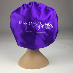 Custom Satin Bonnets - Brand My Bundles