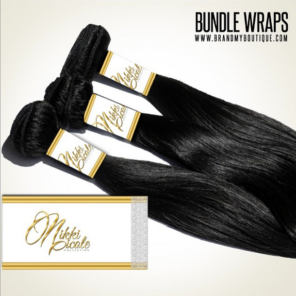 Self-Adhesive Custom Bundle Wraps - Brand My Bundles