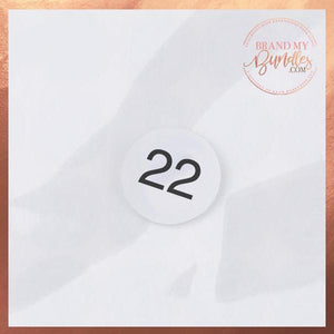 Custom Bundle Length Number Stickers - Brand My Bundles
