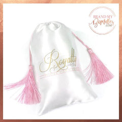 Custom Satin Tassel Bundle Bags