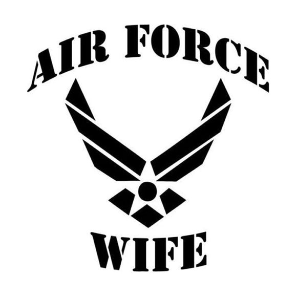 Air Force Wife Decal