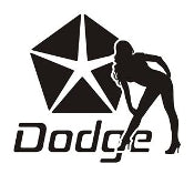 Dodge Girl Decal