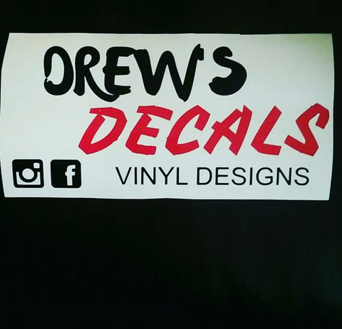 Drew's Decals Logo