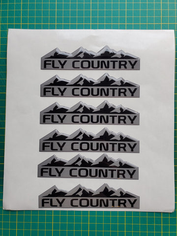 Fly Country Rough Country Badge