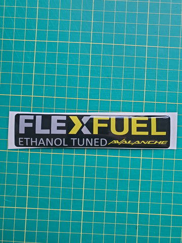 Chevy Avalanche Flex Fuel Badge