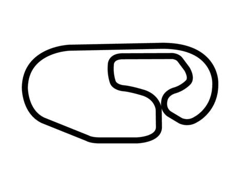 Charlotte Motor Speedway Road Course Decal