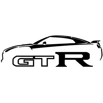 Nissan GTR Silhouette Decal