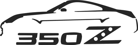350Z Silhouette Decal