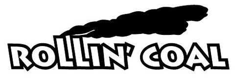 Rollin Coal Decal