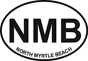 North Myrtle Beach SC Decal