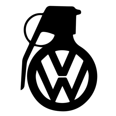Volkswagen Grenade Decal