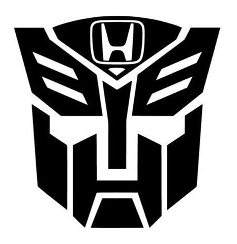 Honda Autobot Decal