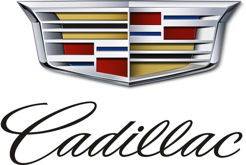 Cadillac Printed Decal