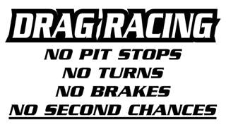 Drag Racing Decal