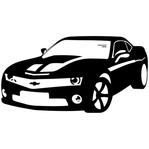 Camaro Silhouette Decal