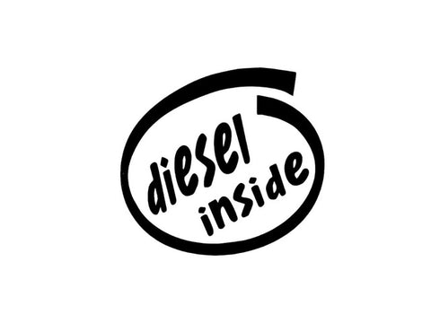 Diesel Inside Decal