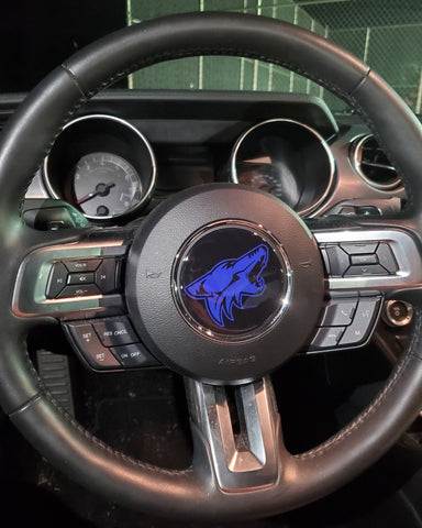 2015 - 2019 Mustang Coyote Steering Wheel Badge