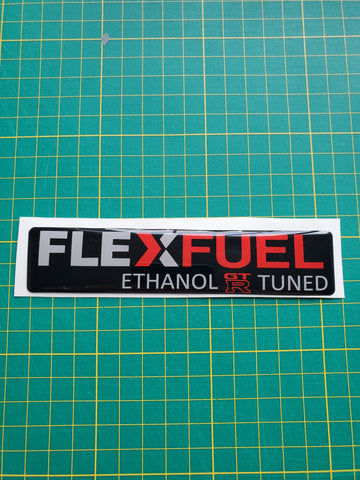 Nissan GTR Flex Fuel Badge