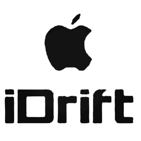iDrift Apple Decal