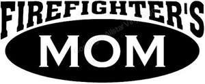 Firefighter's Mom Decal