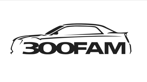 300 Fam Silhouette Decal