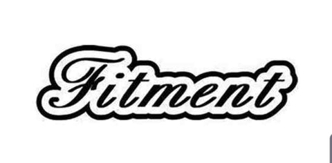 Fitment Decal