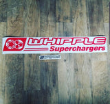 Whipple Superchargers Windshield Banner