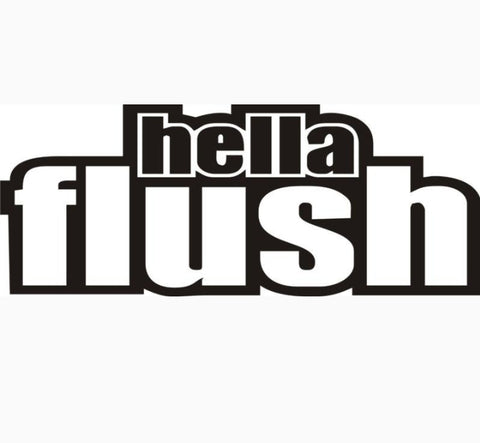 Hella Flush Decal