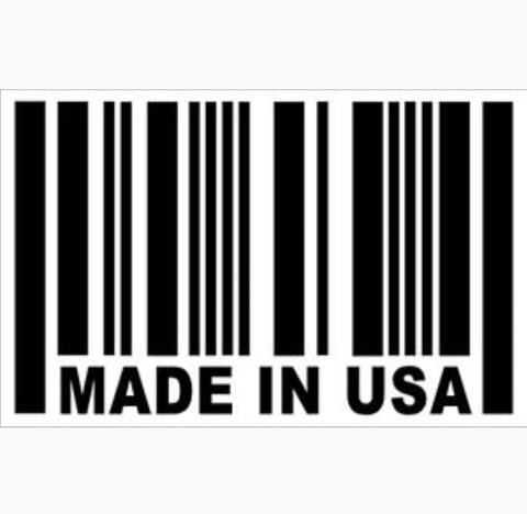 Made In USA Decal