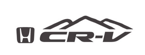 Honda CR-V Mountain Decal