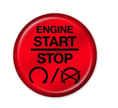 OEM Style 3 Push To Start Button Overlay