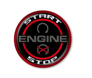 OEM Style 1 Push To Start Button Overlay