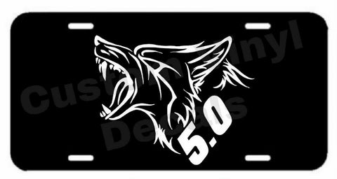 Ford Coyote 5.0 Aluminum License Plate