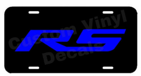 Chevy Camaro RS Aluminum License Plate