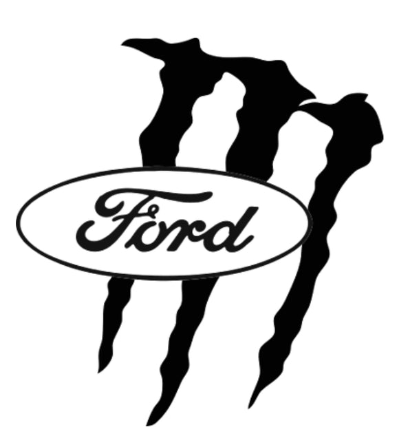 Ford Monster Energy Decal